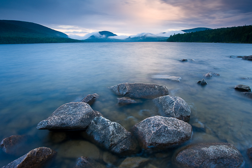 Eagle Lake Acadia National Park Maine