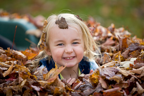 Vermont creative child portraits