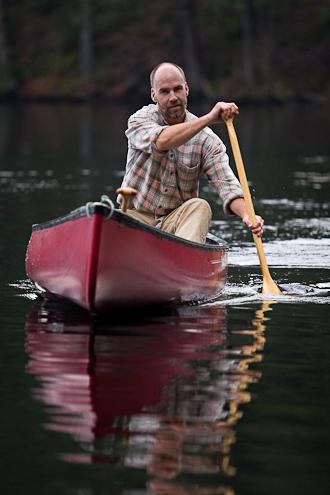 Photo of Man canoeing