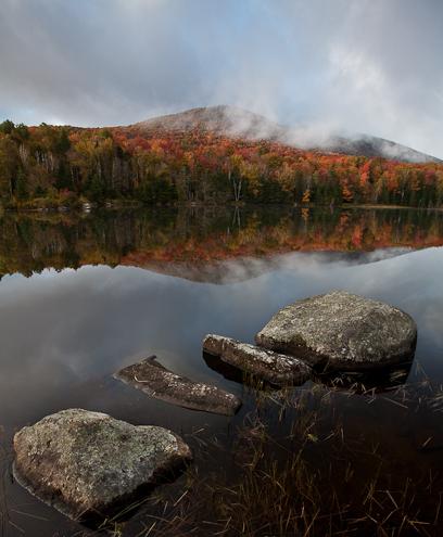 Autumn Lake in Vermont