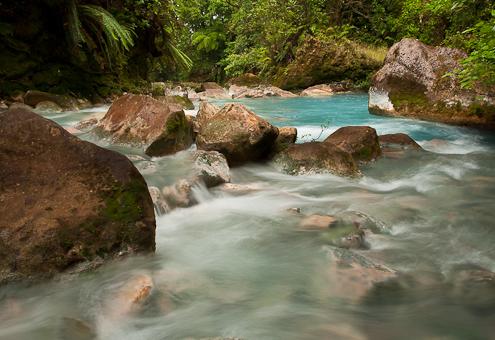 Costa Rica river photograph