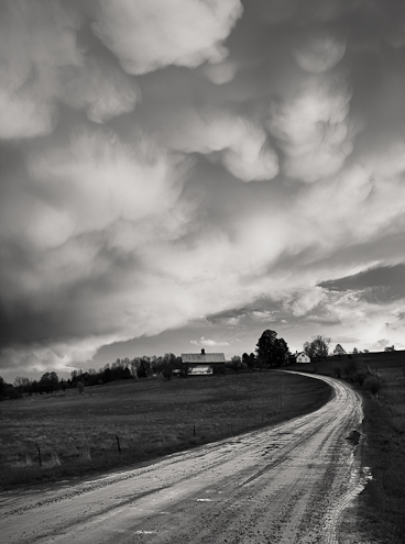 clearing storm vermont landscape photography