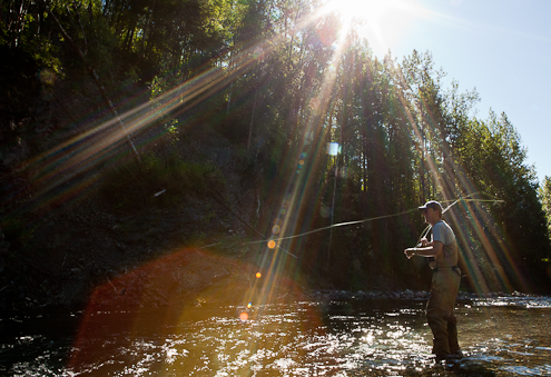 alaska fly fishing photography